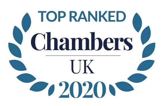 Chambers UK 2016 Top Ranked